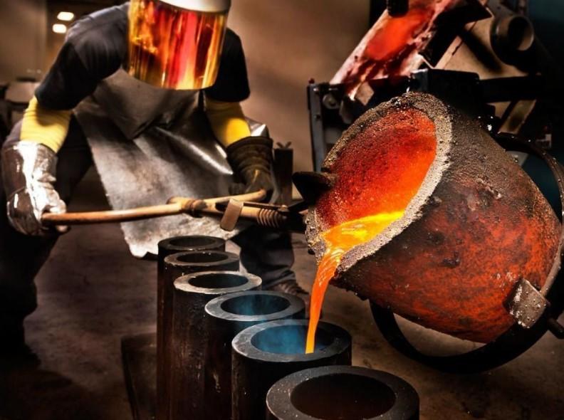 empresas químicas derretendo ouro